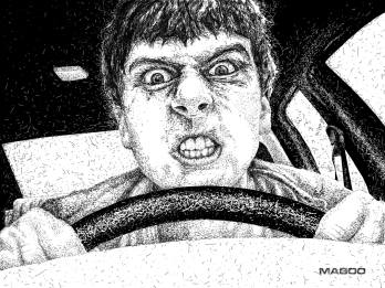 O vingador do trânsito